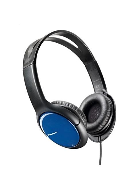 Pioneer SE-MJ711-L Kulaküstü Kulaklık Mavi
